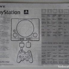 Videojuegos y Consolas: PLAY STATION PS1 MANUAL DE INSTRUCCIONES ORIGINALES B. Lote 203724205
