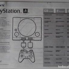 Videojuegos y Consolas: PLAY STATION PS1 MANUAL DE INSTRUCCIONES ORIGINALES D. Lote 203724610