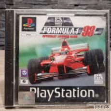 Videojuegos y Consolas: VIDEOJUEGO PS1 FORMULA 1 98 1998 PAL ESPAÑA SONY PLAY STATION. Lote 204467932