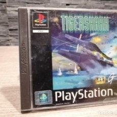 Videojuegos y Consolas: VIDEOJUEGO PS1 TIGERSHARK PAL ESPAÑA SONY PLAY STATION TIGER SHARK. Lote 204473886