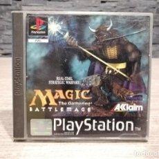 Videojuegos y Consolas: VIDEOJUEGO PS1 MAGIC THE GATHERING BATTLEMAGE SONY PLAY STATION. Lote 204477186