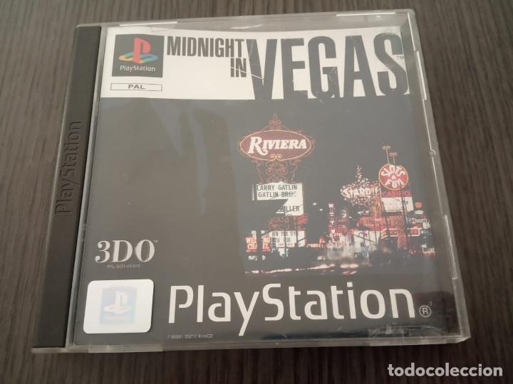 MIDNIGHT IN VEGAS - PS1 - PSX - UK - (INGLÉS) (Juguetes - Videojuegos y Consolas - Sony - PS1)