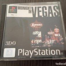 Videojogos e Consolas: MIDNIGHT IN VEGAS - PS1 - PSX - UK - (INGLÉS). Lote 204489218