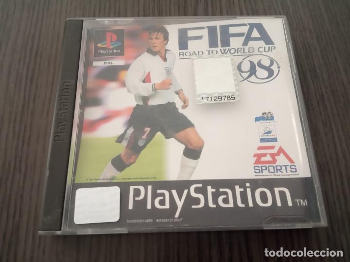 FIFA - ROAD TO WORLD CUP 98 - PS1 - PSX - UK - (INGLÉS) (Juguetes - Videojuegos y Consolas - Sony - PS1)