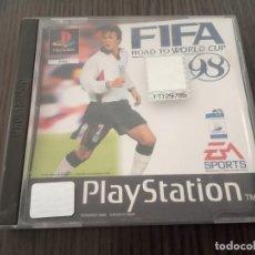 Videojuegos y Consolas: FIFA - ROAD TO WORLD CUP 98 - PS1 - PSX - UK - (INGLÉS). Lote 204489246