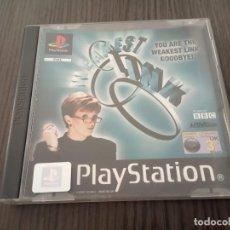 Videojogos e Consolas: WEAKEST LINK PLAYSTATION 1 PS1 PSX.PAL UK.- (INGLÉS). Lote 204489252
