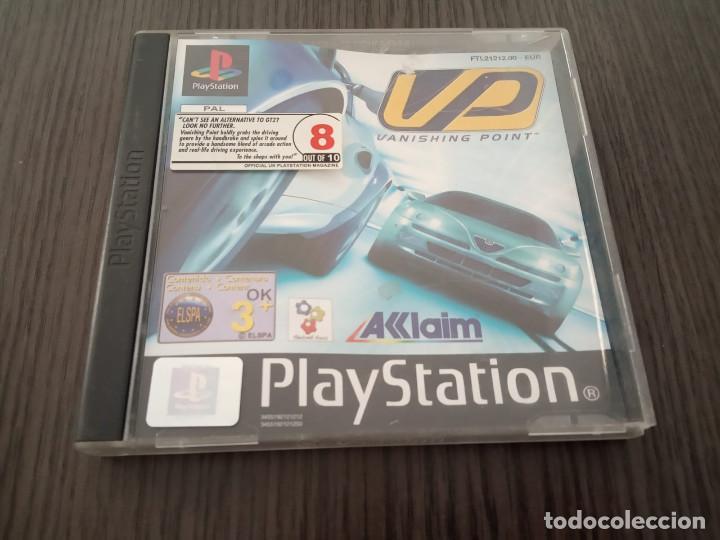 VANISHING POINT - PS1 - PSX - UK - (INGLÉS) (Juguetes - Videojuegos y Consolas - Sony - PS1)