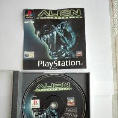 Videojuegos y Consolas: -ALIEN RESURRECCIÓN- PLAYSTATION 1- FOX- PAL -. Lote 204847132