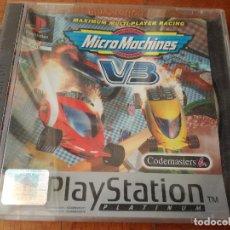 Videojuegos y Consolas: JUEGO PLAYSTATION 1 PLATINUM ( MICRO MACHINES V3 ) CODEMASTERS 1997. Lote 205451850