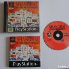 Videojogos e Consolas: JUEGO PSX SHANGHAI TRUE VALOR. Lote 205571162