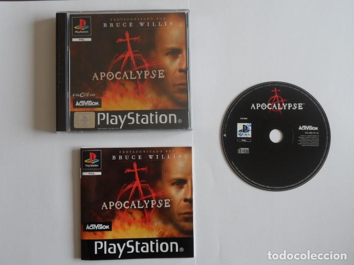 JUEGO PSX APOCALYPSE (Juguetes - Videojuegos y Consolas - Sony - PS1)