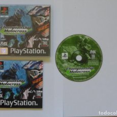 Videojuegos y Consolas: JUEGO PSX CHAMPIONSHIP MOTOCROSS: RICKY CARMICHAEL. Lote 205653121
