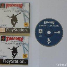 Videojuegos y Consolas: JUEGO PSX THRASHER: SKATE AND DESTROY. Lote 205656078