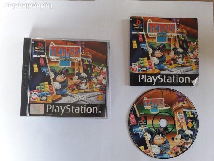 JUEGO PSX EL TETRIS UN MAGICO DESAFIO (Juguetes - Videojuegos y Consolas - Sony - PS1)