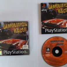 Videojuegos y Consolas: JUEGO PSX DEMOLITION RACER. Lote 205716456