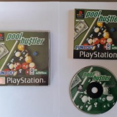 Videojuegos y Consolas: JUEGO PSX POOL HUSTLER. Lote 205716732