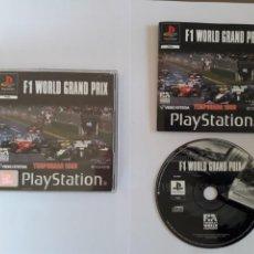 Videojuegos y Consolas: JUEGO PSX F1 WORLD GRAND PRIX. Lote 205716903