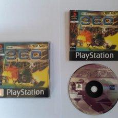 Videojuegos y Consolas: JUEGO PSX 360 THREE SIXTY. Lote 205717177