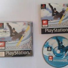 Videojuegos y Consolas: JUEGO PSX MTV SPORTS: SNOWBOARDING. Lote 205718040