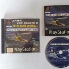Videojuegos y Consolas: JUEGO PSX R/C STUNT COPTER. Lote 205718947