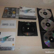 Videojogos e Consolas: PS1 - FINAL FANTASY VII , PAL ESPAÑOL , COMPLETO. Lote 206183345
