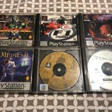 Videojuegos y Consolas: PACK 6 VIDEOJUEGOS PS1. Lote 206394077