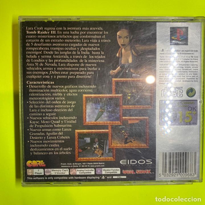 Videojuegos y Consolas: Tomb Raider 3 adventures of Lara Croft - Foto 4 - 206405602