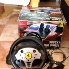 Videojuegos y Consolas: RACING WHEEL FERRARI SHOCK 2 PLAYSTATION VOLANTE PS ONE GUILLEMOT. Lote 206426945