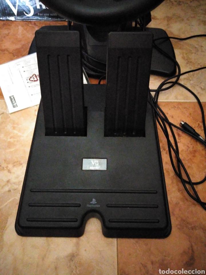 Videojuegos y Consolas: Racing wheel v3 PlayStation volante psone - Foto 3 - 206427988