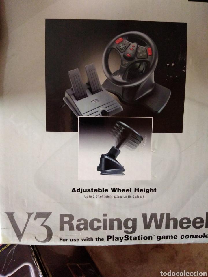 Videojuegos y Consolas: Racing wheel v3 PlayStation volante psone - Foto 6 - 206427988