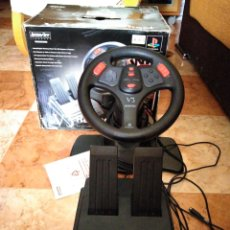 Videojuegos y Consolas: RACING WHEEL V3 PLAYSTATION VOLANTE. Lote 206427988