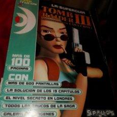 Videojuegos y Consolas: SUPERGUIA TOMB RAIDER 3 III. Lote 207044235