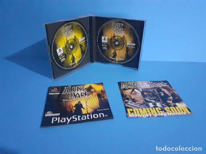 Videojuegos y Consolas: Alone in the Dark PS1 versión francesa completo, 2 discos e instrucciones. - Foto 3 - 207450977