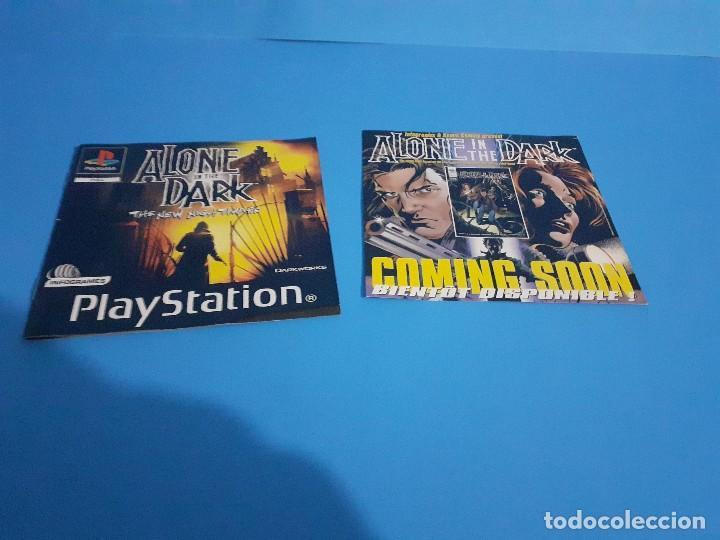Videojuegos y Consolas: Alone in the Dark PS1 versión francesa completo, 2 discos e instrucciones. - Foto 4 - 207450977