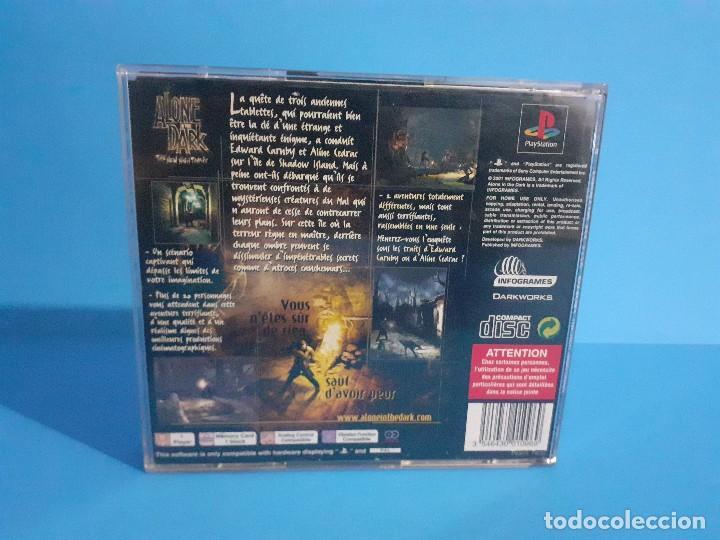 Videojuegos y Consolas: Alone in the Dark PS1 versión francesa completo, 2 discos e instrucciones. - Foto 7 - 207450977