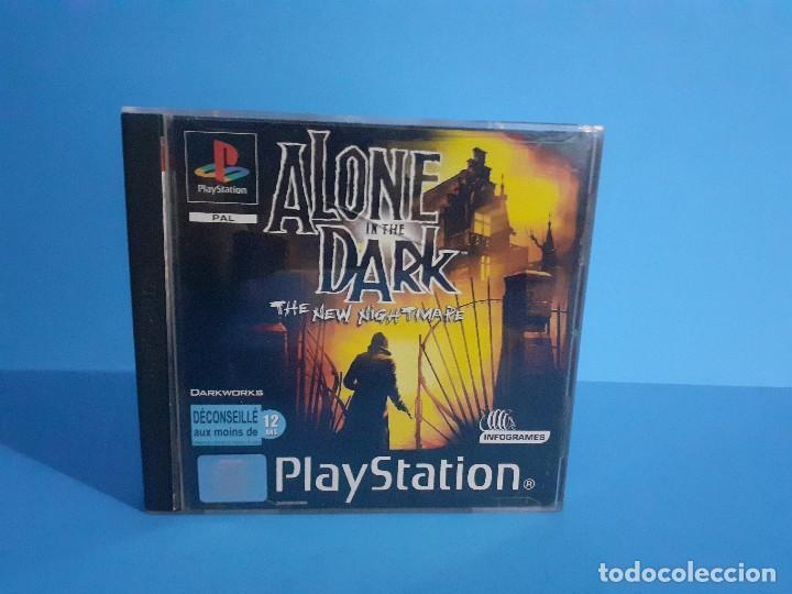 Videojuegos y Consolas: Alone in the Dark PS1 versión francesa completo, 2 discos e instrucciones. - Foto 10 - 207450977