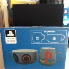 Videojuegos y Consolas: SET DE DESAYUNO PLAYSTATION (CUENCO Y TAZA DE CERÁMICA). Lote 207664996