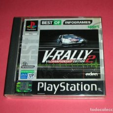 Videojuegos y Consolas: V-RALLY 2 CHAMPIONSHIP EDITION PLAYSTATION PS1 PSX PAL ESPAÑA. Lote 208653742