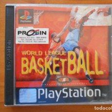 Videojogos e Consolas: PS1 WORLD LEAGUE BASKETBALL - COMPLETO - PLAYSTATION (D9). Lote 208686310