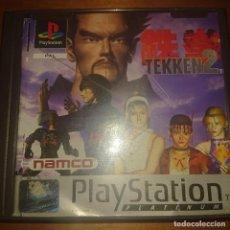 Videojogos e Consolas: TEKKEN 2 PLATINUM PS1 EN ESPAÑOL COMPLETO. Lote 209051996
