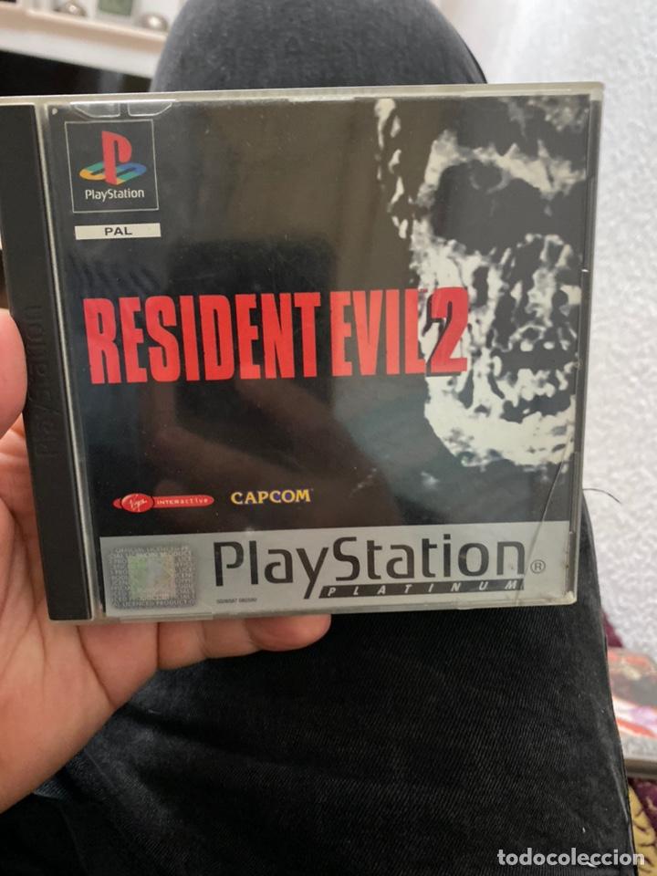 RESIDENT EVIL 2 JUEGO PARA PLAYSTATION PS1 PLAY STATION 1 PAL ESPAÑA VERSIÓN ESPAÑOLA (Juguetes - Videojuegos y Consolas - Sony - PS1)
