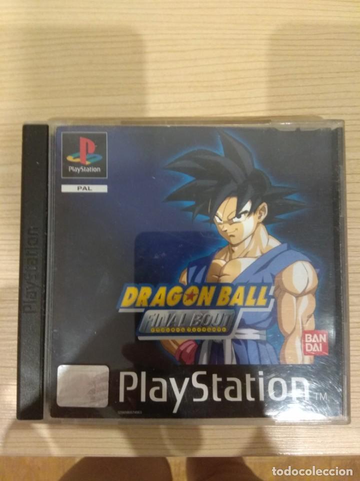 JUEGO DE PLAYSTATION. DRAGÓN BALL FINAL BOUT. (Juguetes - Videojuegos y Consolas - Sony - PS1)