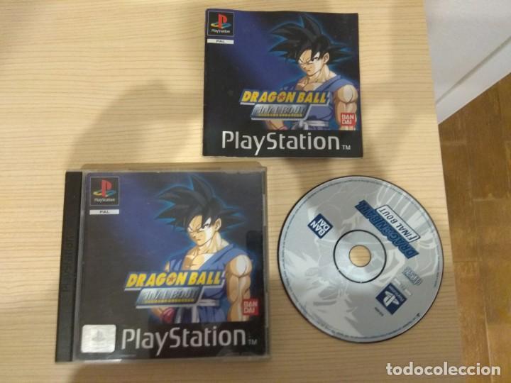 Videojuegos y Consolas: Juego de PlayStation. Dragón Ball Final Bout. - Foto 3 - 209872235