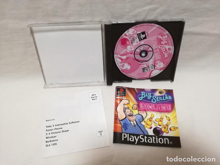 Videojuegos y Consolas: JUEGO PS1 / PSX / PLAY STATION 1 - BIG STRIKE BOWLING (IDIOMA INGLES) - Foto 2 - 210105055