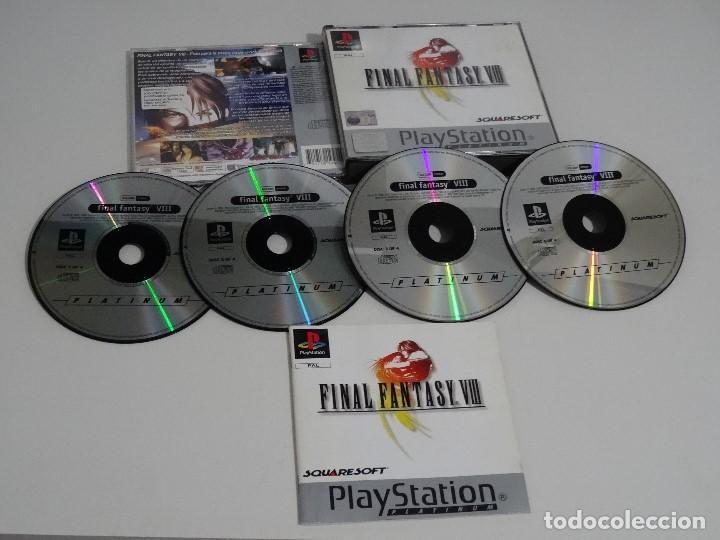 PLAY STATION PS1 - FINAL FANTASY VIII 8 MUY BUEN ESTADO ED. ESPAÑOL (Juguetes - Videojuegos y Consolas - Sony - PS1)