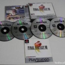 Videojuegos y Consolas: PLAY STATION PS1 - FINAL FANTASY VIII 8 MUY BUEN ESTADO ED. ESPAÑOL. Lote 210152970