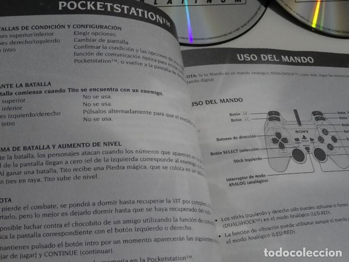 Videojuegos y Consolas: PLAY STATION PS1 - Final Fantasy VIII 8 MUY BUEN ESTADO Ed. Español - Foto 3 - 210152970