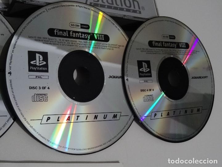 Videojuegos y Consolas: PLAY STATION PS1 - Final Fantasy VIII 8 MUY BUEN ESTADO Ed. Español - Foto 5 - 210152970