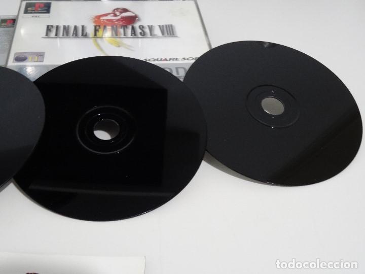 Videojuegos y Consolas: PLAY STATION PS1 - Final Fantasy VIII 8 MUY BUEN ESTADO Ed. Español - Foto 7 - 210152970