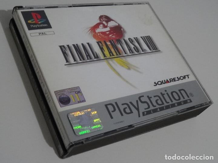 Videojuegos y Consolas: PLAY STATION PS1 - Final Fantasy VIII 8 MUY BUEN ESTADO Ed. Español - Foto 9 - 210152970